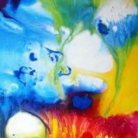 Fluence 1 / acrylique - 41x27cm