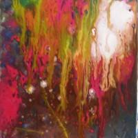 Fluence 3 / acrylique - 40x30cm